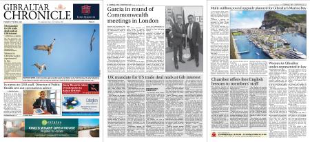 Gibraltar Chronicle – 03 March 2020