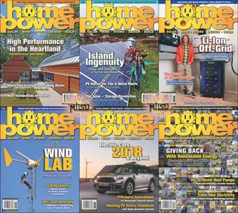 Home Power Magazine - Full Year 2018 Issues Collection