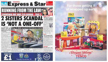 Express and Star Sandwell Edition – November 17, 2017