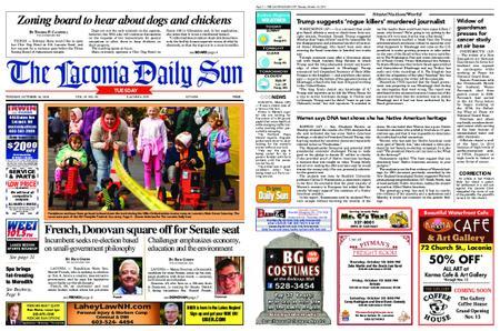 The Laconia Daily Sun – October 16, 2018