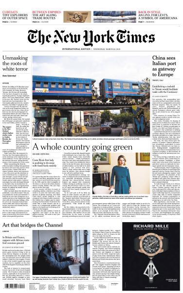 International New York Times - 20 March 2019