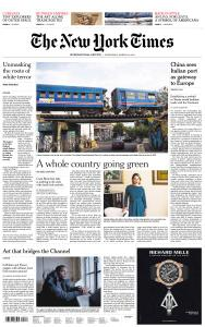 International New York Times - 20 March 2019