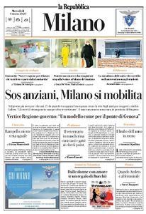 la Repubblica Milano - 4 Marzo 2020