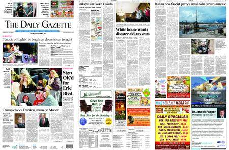 The Daily Gazette – November 18, 2017