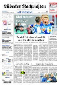 Lübecker Nachrichten Ostholstein Süd - 19. November 2017