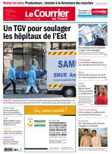 Le Courrier de l'Ouest Angers – 27 mars 2020