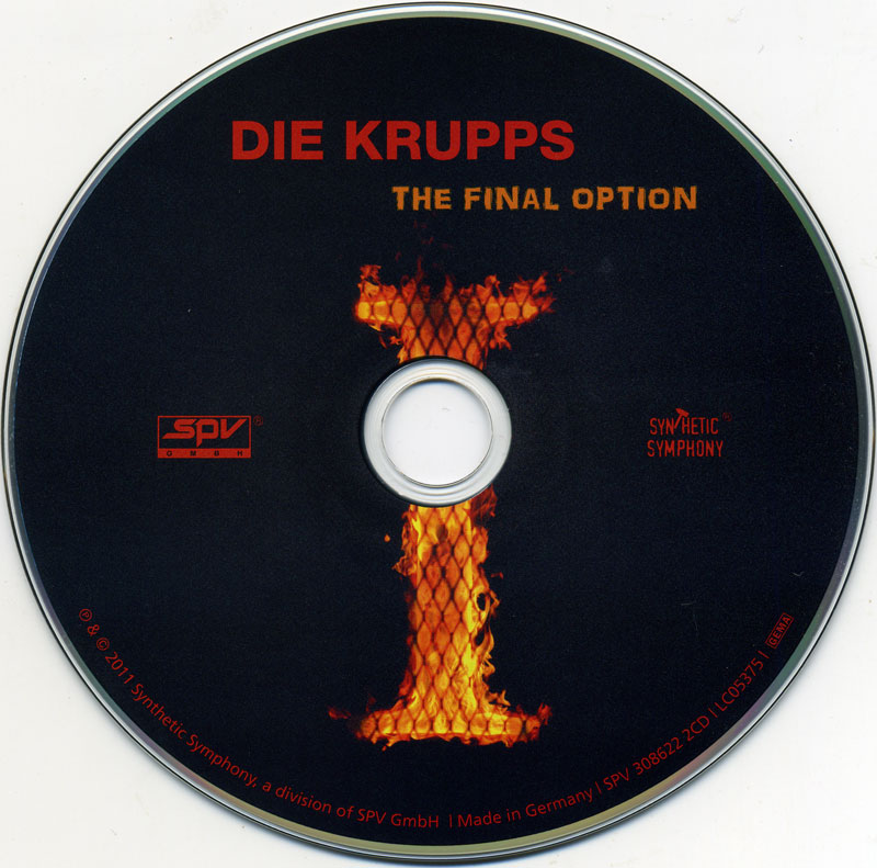 Die Krupps - II: The Final Option + The Final Option Remixed (2011)