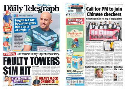 The Daily Telegraph (Sydney) – June 18, 2019