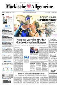 Märkische Allgemeine Fläming Echo - 22. Januar 2018