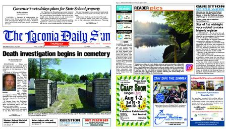 The Laconia Daily Sun – July 30, 2020
