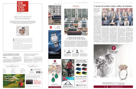 The Globe and Mail – October 19, 2018