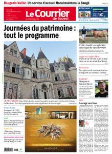 Le Courrier de l'Ouest Nord Anjou – 21 septembre 2019