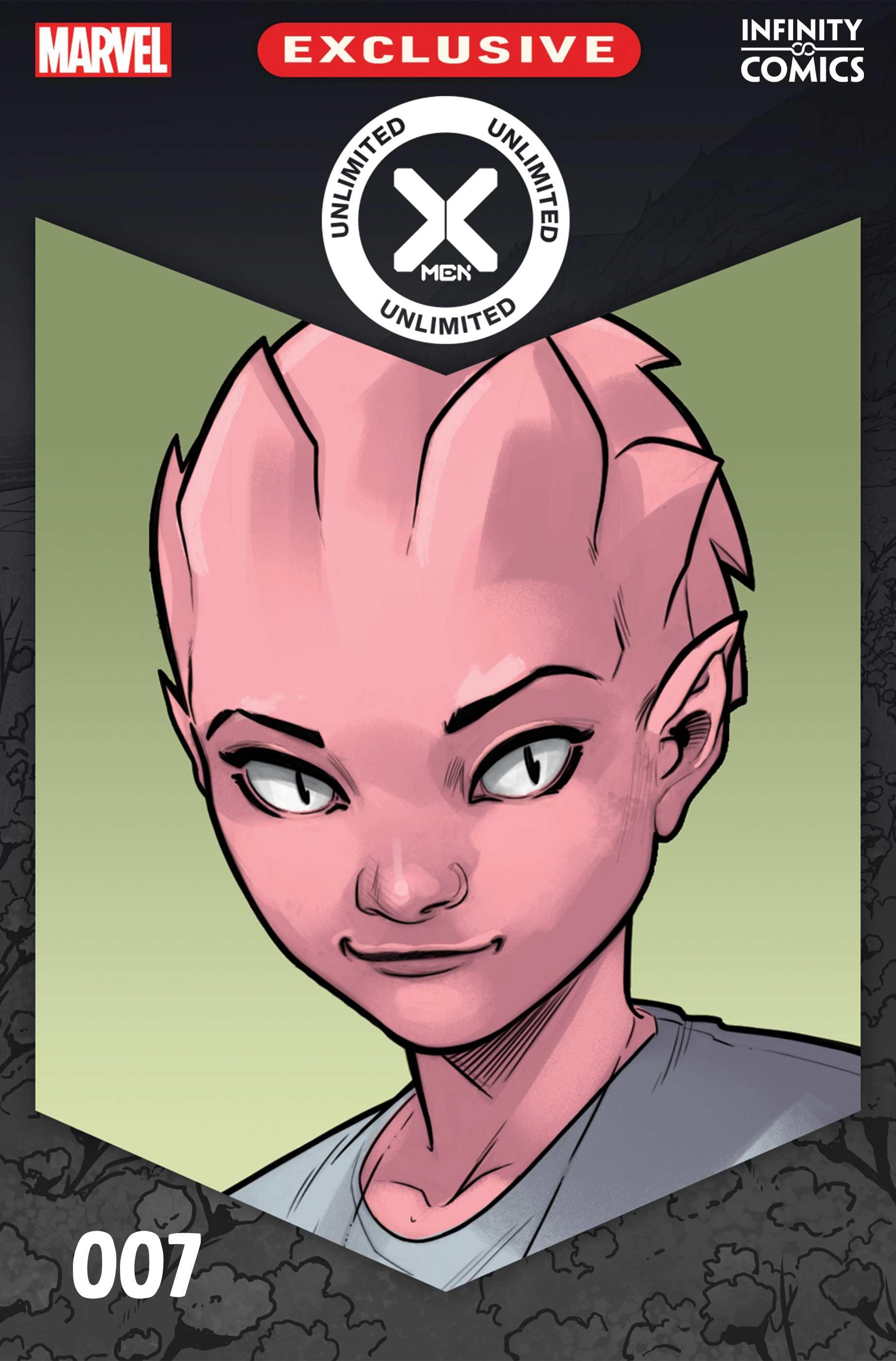 X Men Unlimited Infinity Comic 007 (2021) (Digital Mobile) (Infinity Empire