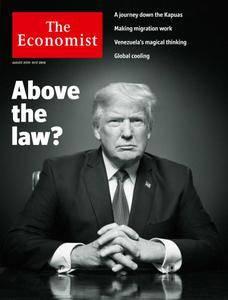 The Economist Latin America – 25 August 2018