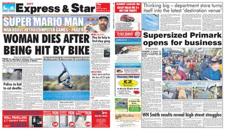 Express and Star City Edition – April 12, 2019