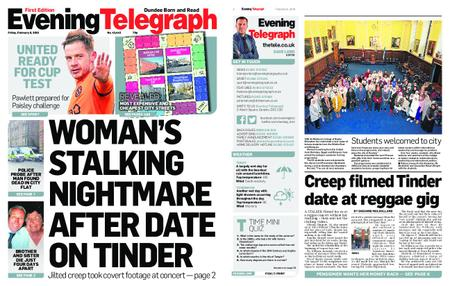 Evening Telegraph First Edition – February 08, 2019