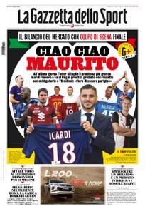 La Gazzetta dello Sport – 03 settembre 2019