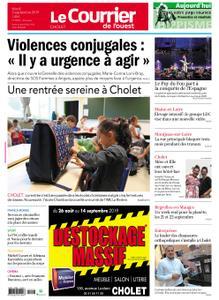 Le Courrier de l'Ouest Cholet – 03 septembre 2019