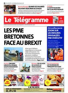 Le Télégramme Ouest Cornouaille – 10 décembre 2020