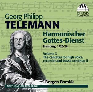 Bergen Barokk - Telemann: Harmonischer Gottes-Dienst, Vol. 3 (2011)