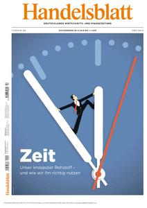 Handelsblatt - 28. Dezember 2018