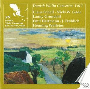Kai Laursen - Danish Violin Concertos, Vol. 1 (2009)