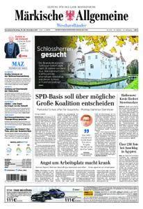 Märkische Allgemeine Westhavelländer - 25. November 2017