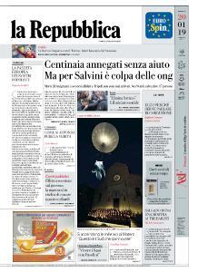 la Repubblica - 20 Gennaio 2019