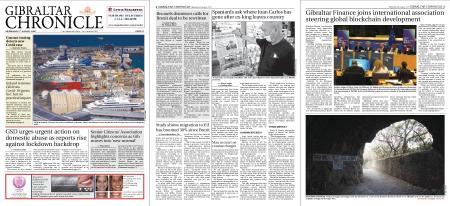 Gibraltar Chronicle – 05 August 2020