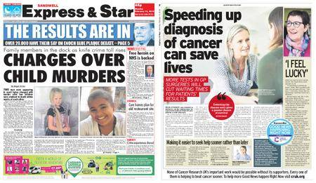Express and Star Sandwell Edition – February 12, 2018