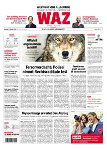 WAZ Westdeutsche Allgemeine Zeitung Oberhausen-Sterkrade - 02. Oktober 2018