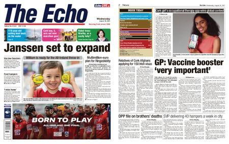 Evening Echo – August 18, 2021