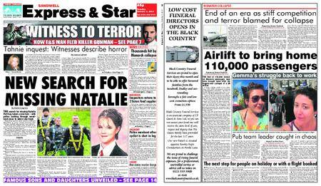 Express and Star Sandwell Edition – October 03, 2017