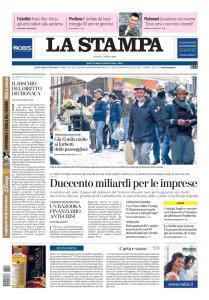 La Stampa Torino Provincia e Canavese - 4 Aprile 2020