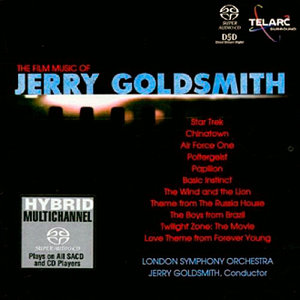 Jerry Goldsmith & London Symphony Orchestra - The Film Music of Jerry Goldsmith (2001) MCH PS3 ISO + Hi-Res FLAC