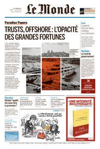 Le Monde du Jeudi 9 Novembre 2017