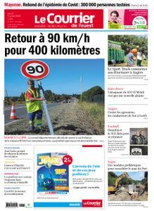 Le Courrier de l'Ouest Angers – 09 juillet 2020