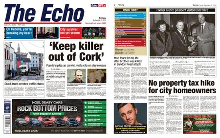 Evening Echo – September 27, 2019