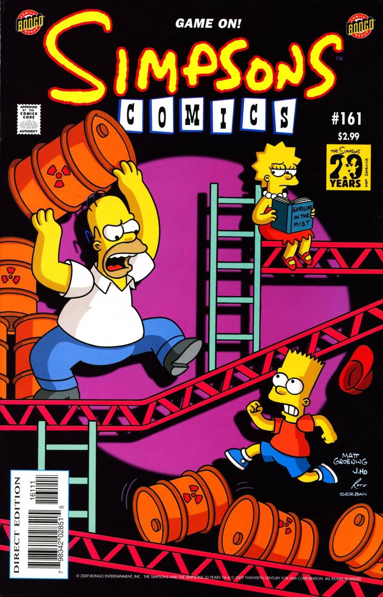 Simpsons Comics 161