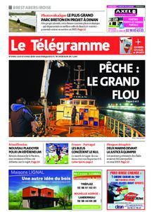 Le Télégramme Brest Abers Iroise – 12 octobre 2020