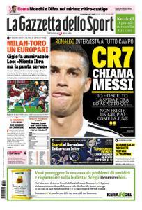 La Gazzetta dello Sport – 10 dicembre 2018