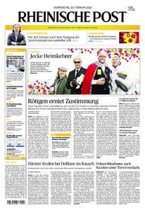 Rheinische Post – 20. Februar 2020