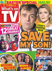 What's on TV - 11 April 2020