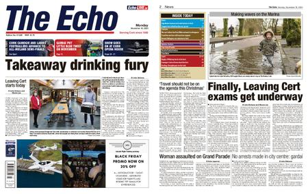 Evening Echo – November 16, 2020