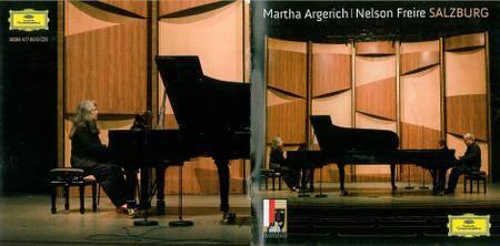 Martha Argerich & Nelson Freire - Salzburg: Johannes Brahms, Sergey Rachmaninov, Franz Schubert, Maurice Ravel (2009) Re-Up