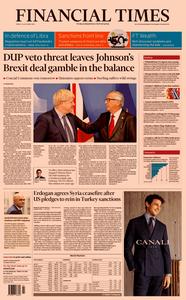 Financial Times UK – 18 October 2019
