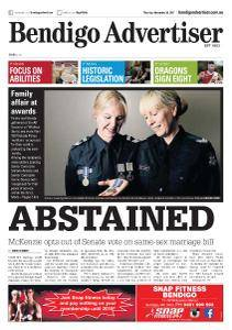 Bendigo Advertiser - November 30, 2017