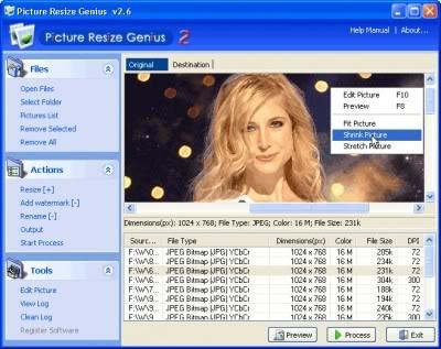 Picture Resize Genius v2.9.8 Portable