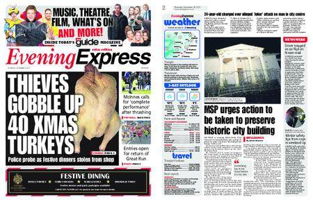 Evening Express – November 30, 2017