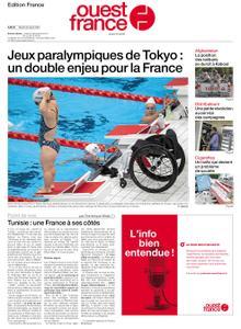 Ouest-France Édition France – 24 août 2021